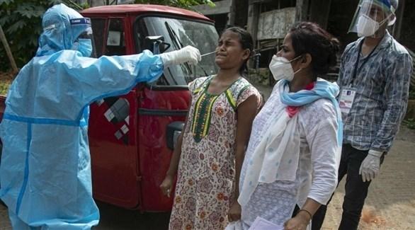 أكثر من 100 ألف إصابة جديدة بكورونا و2427 وفاة في الهند