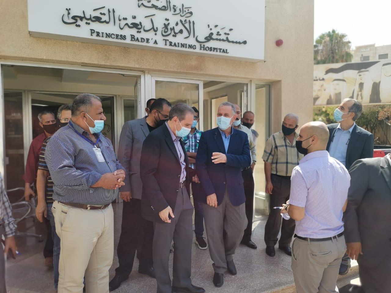 وزير الصحة يتفقد واقع الخدمات المقدمة للمواطنين بمستشفيات في إربد