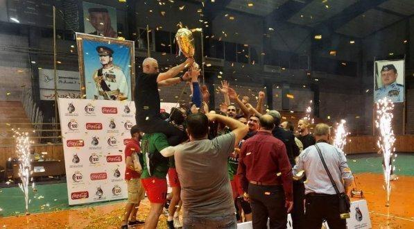 اشتباكات عنيفة بين جماهير نهائي كأس الطائرة الأردنية