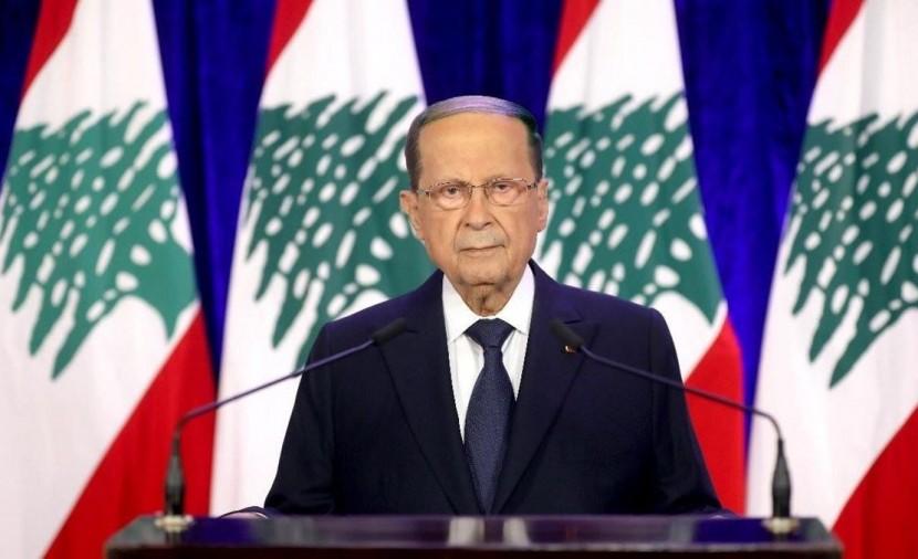 الرئيس اللبناني: ليس مقبولا ان يعود السلاح لغة تخاطب بين اللبنانيين