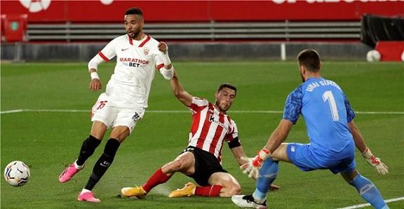 بيلباو يلدع إشبيلية بهدف قاتل في الدوري الإسباني